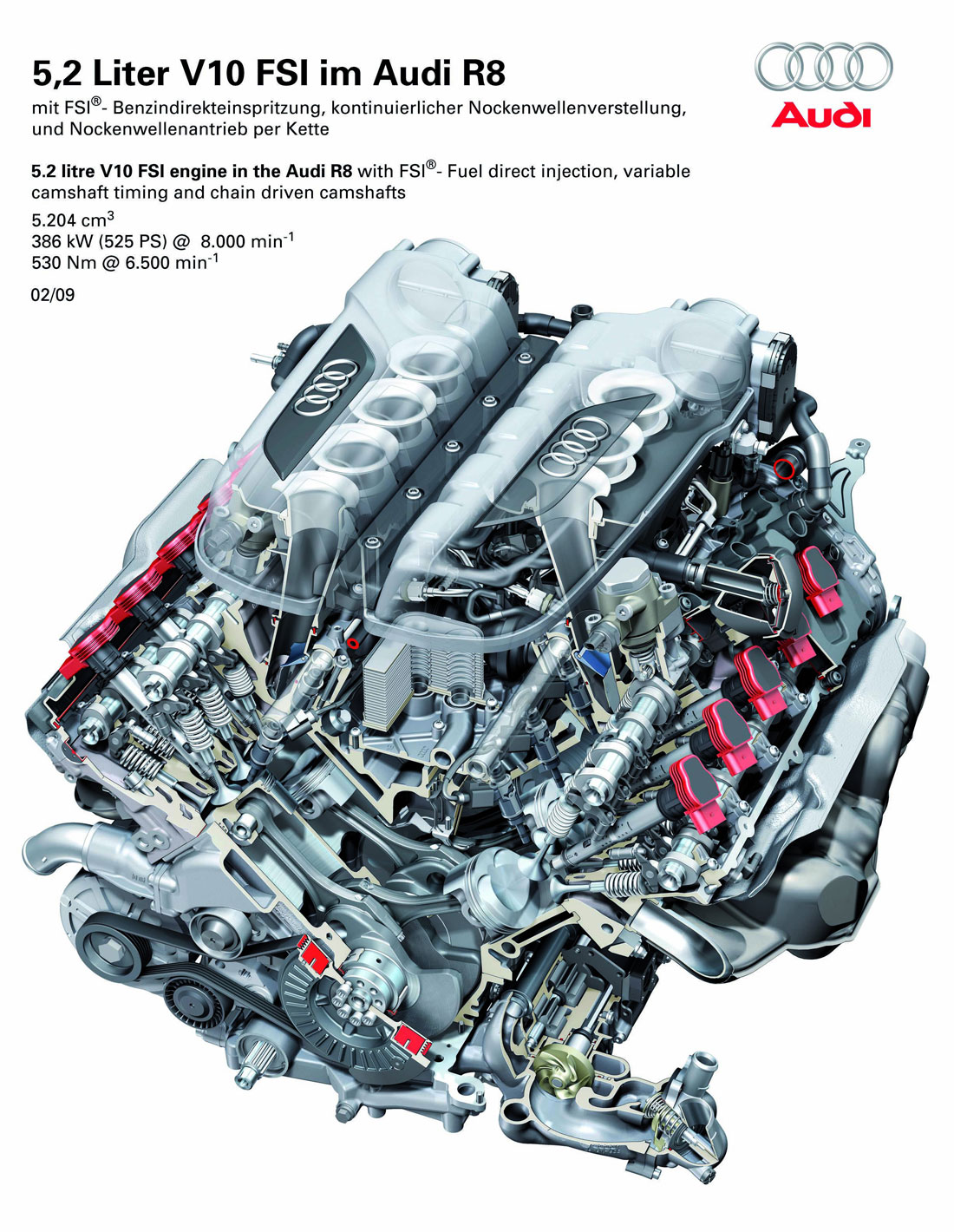 Audi R8 Engine Diagram Manual Guide Wiring For Tt V10 2010 Cartype A6