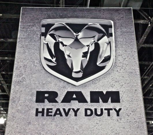 ram heavy duty sign