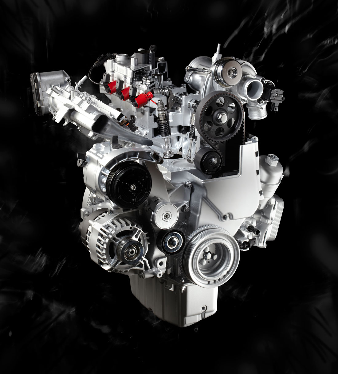 2010 Alfa Romeo MiTo 1.4 MultiAir engine.