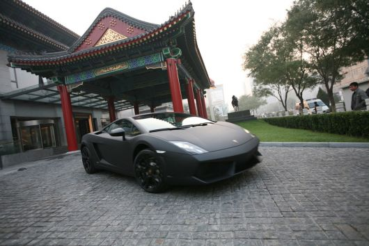 lamborghini in china