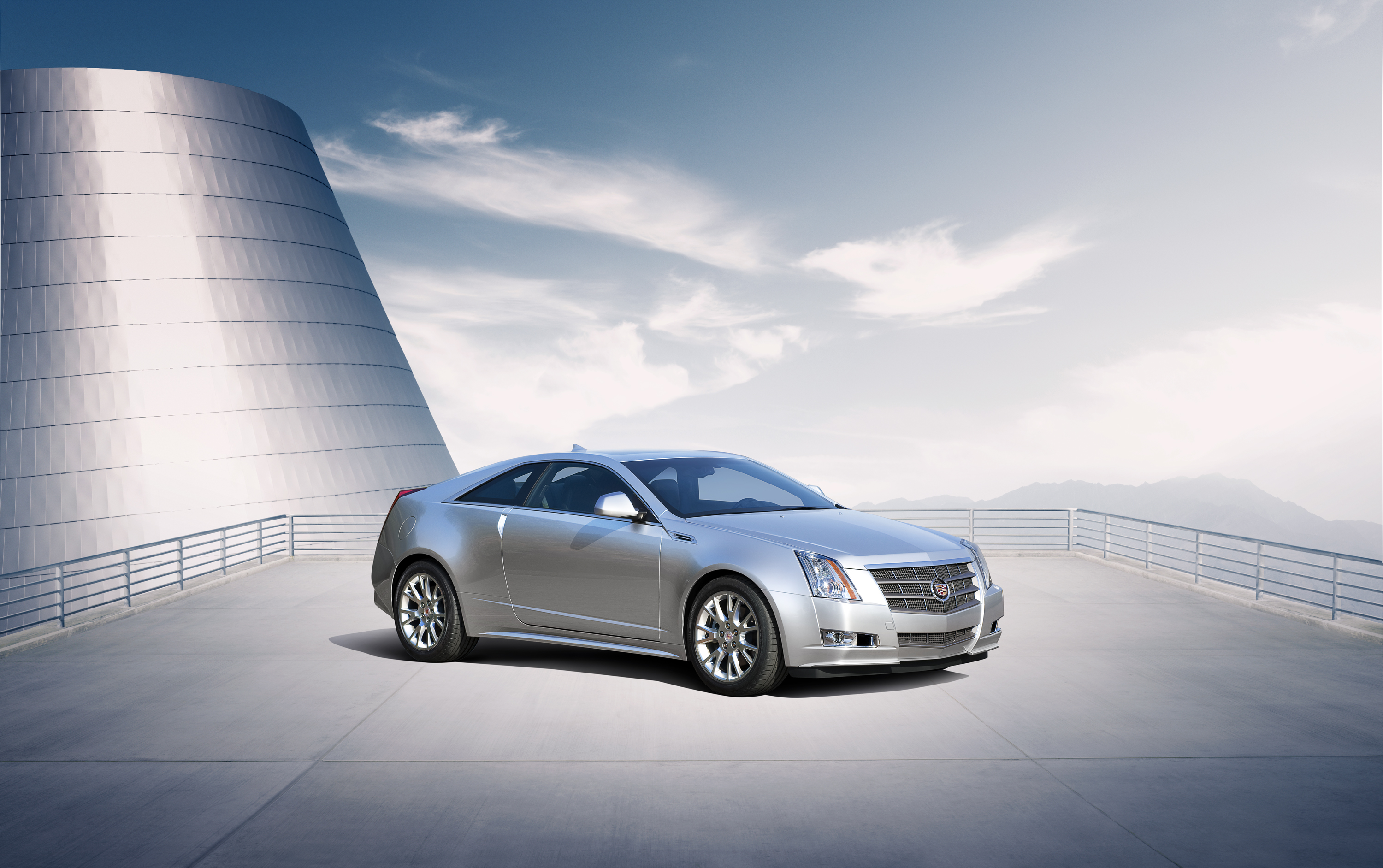 2011 Cadillac CTS Coupe.