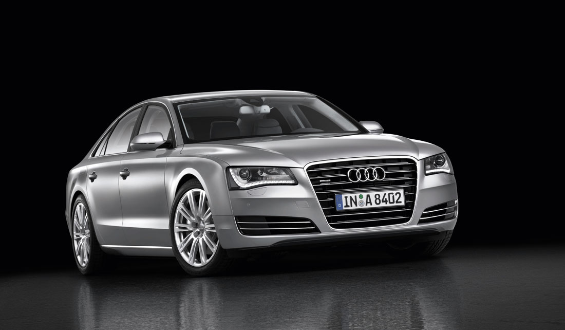 2010 Audi A8. With all this technology the new Audi A8 offers the perfect