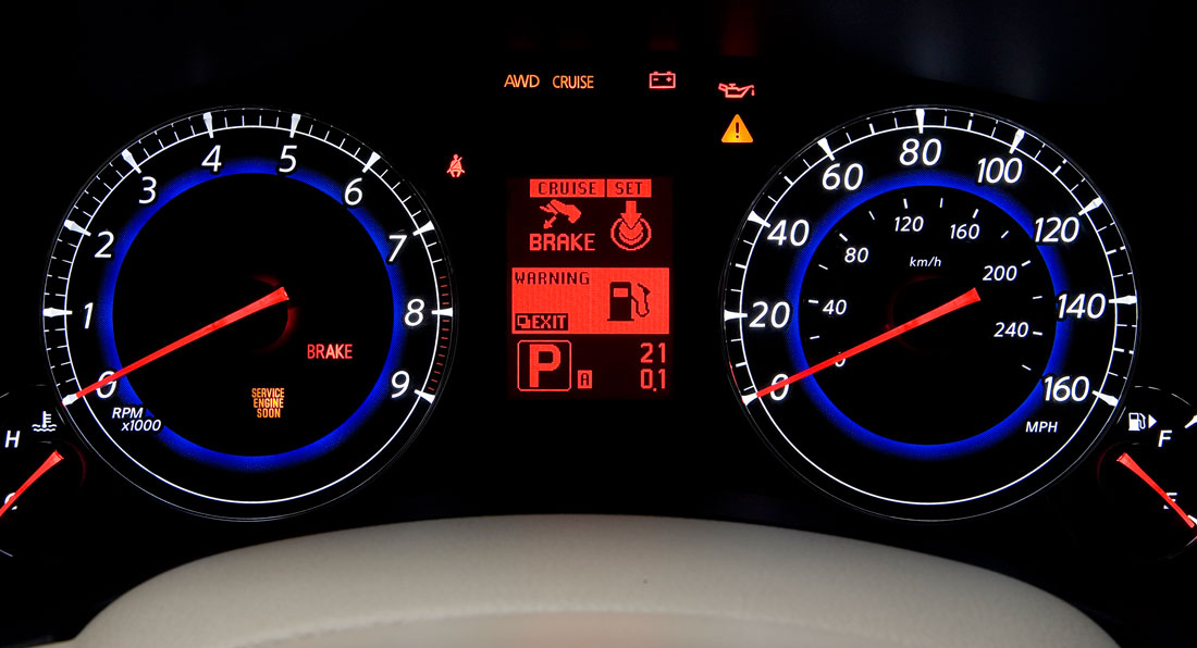 Change In Instrument Cluster Color Theme Nissan Forum