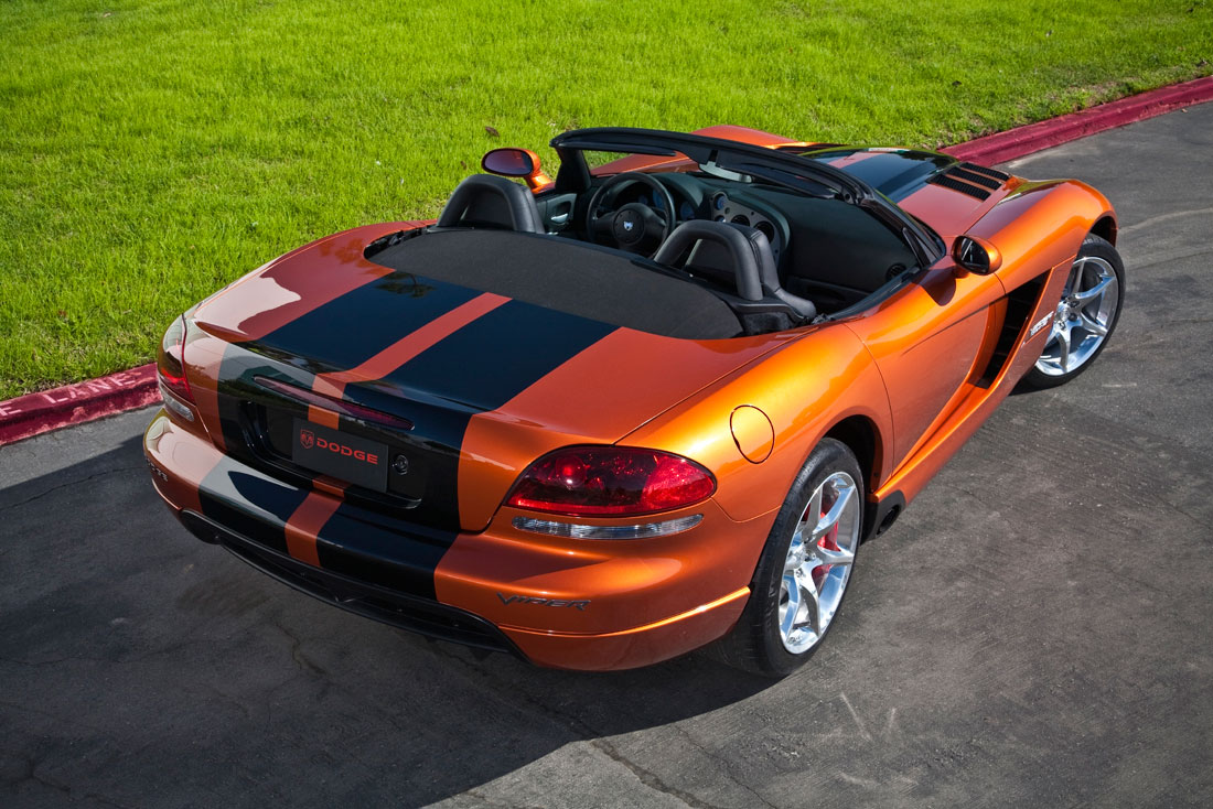Dodge Viper Srt10 Roadster 2010 Cartype