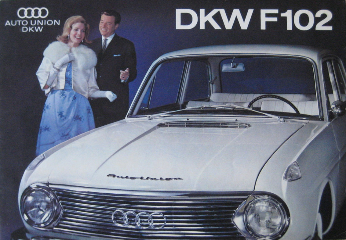 1950 DKW Auto Union 1000 Van Pickup brochure cover.