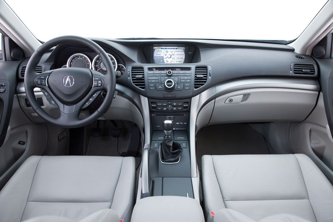 Luxury Cars Acura Tsx Interior 2010