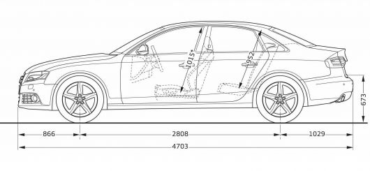 chevrolet aveo lt 4door templates views drawings t