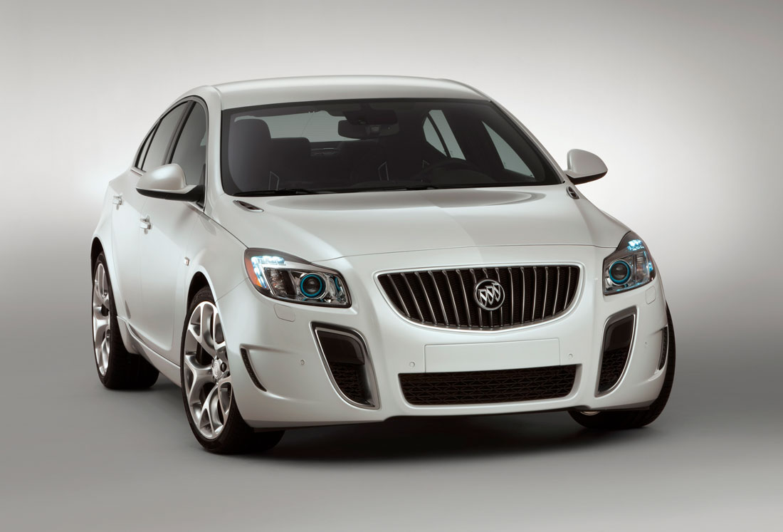 2010 Buick Regal GS.