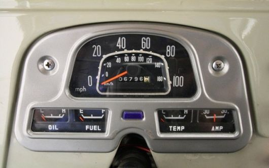 toyota land cruiser gauge cluster 76