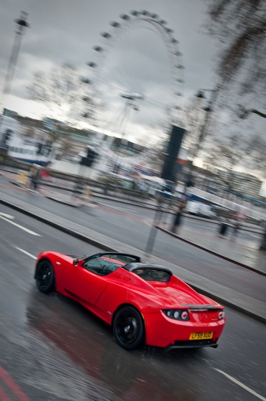 tesla roadster right drive 10 08