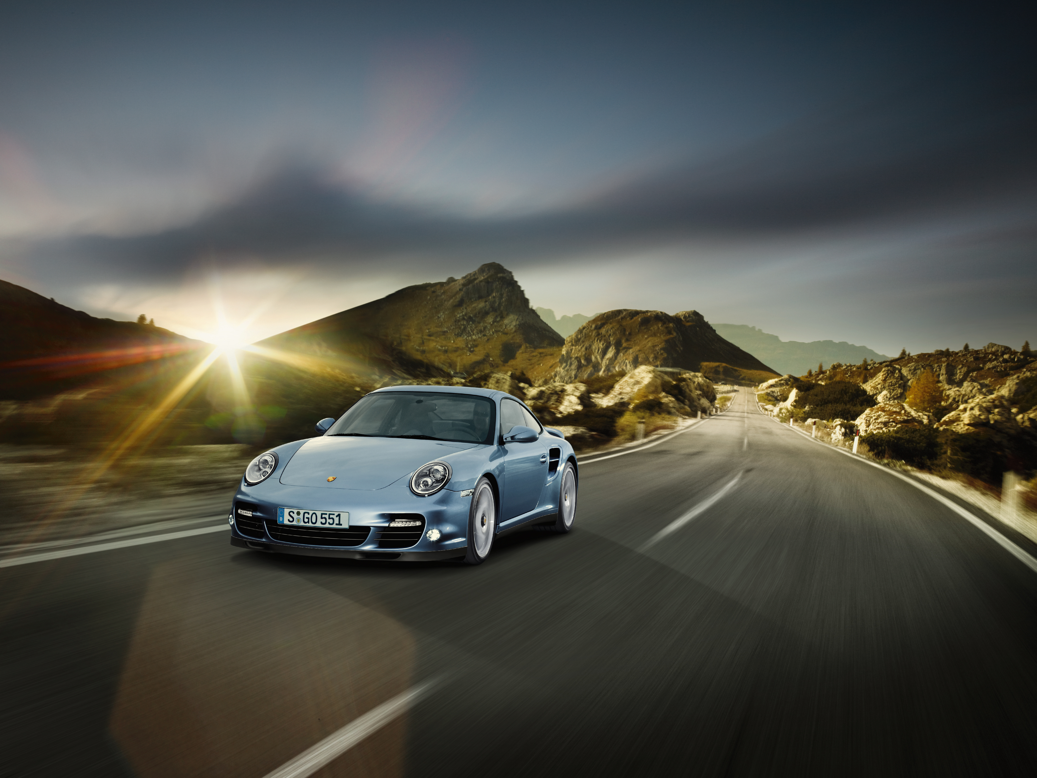 2010 Porsche 911 Turbo S Coupe