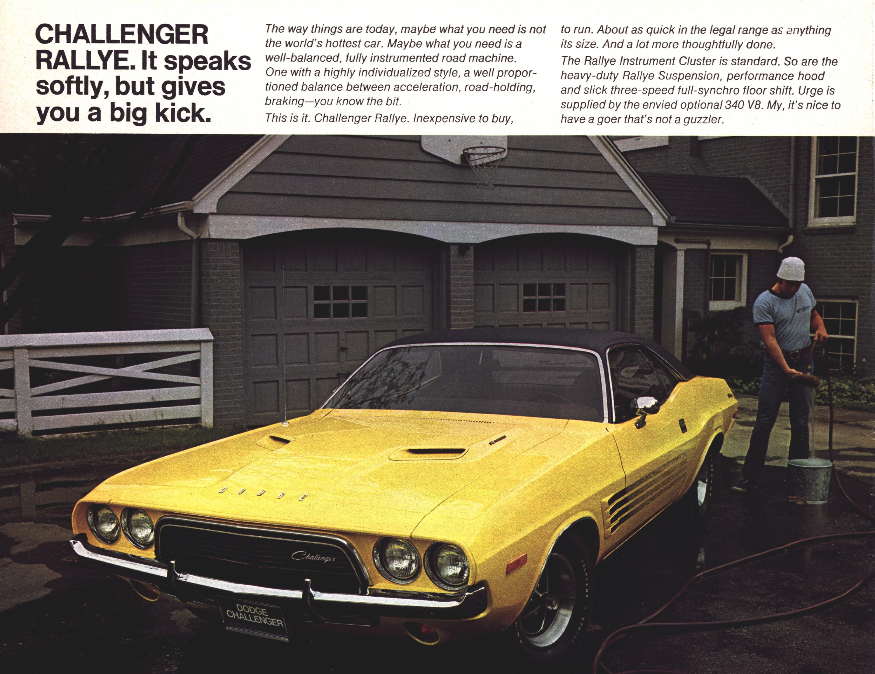 1972 Dodge Challenger and