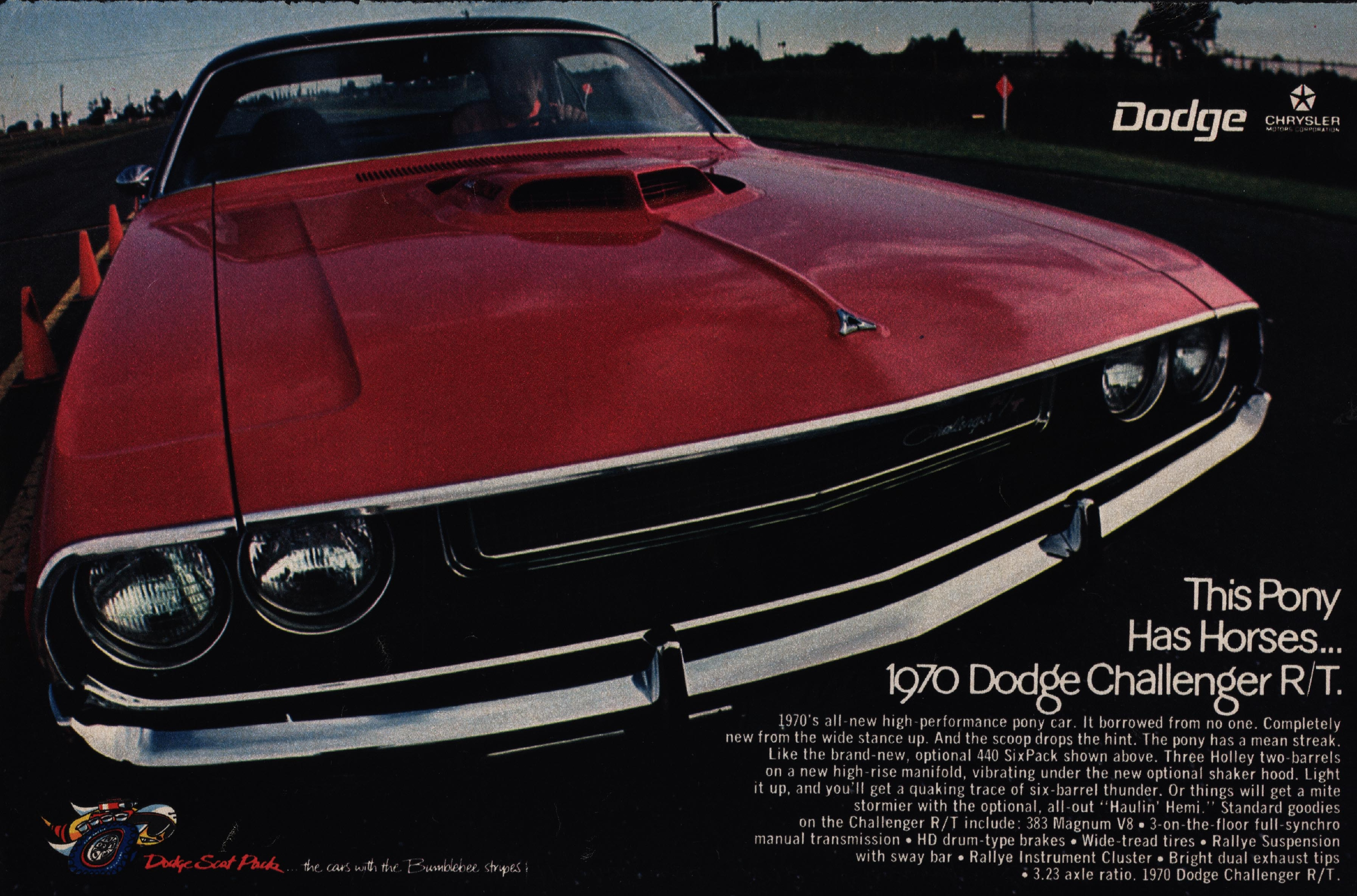 Dodge Challenger Forty Years Of A Dodge Muscle Car Legend