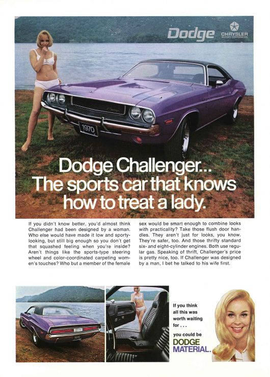 2012 Dodge Charger Se >> Dodge Challenger: Forty Years of a Dodge Muscle-car Legend | Cartype