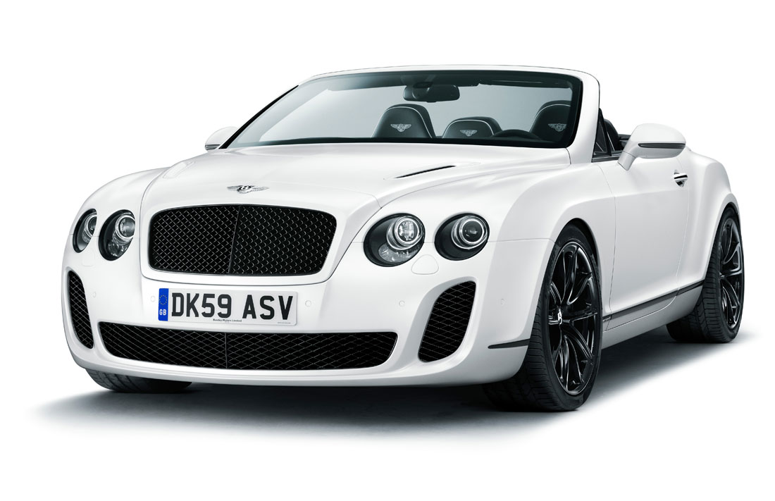 Bentley Continental Supersports Convertible 2010 Cartype
