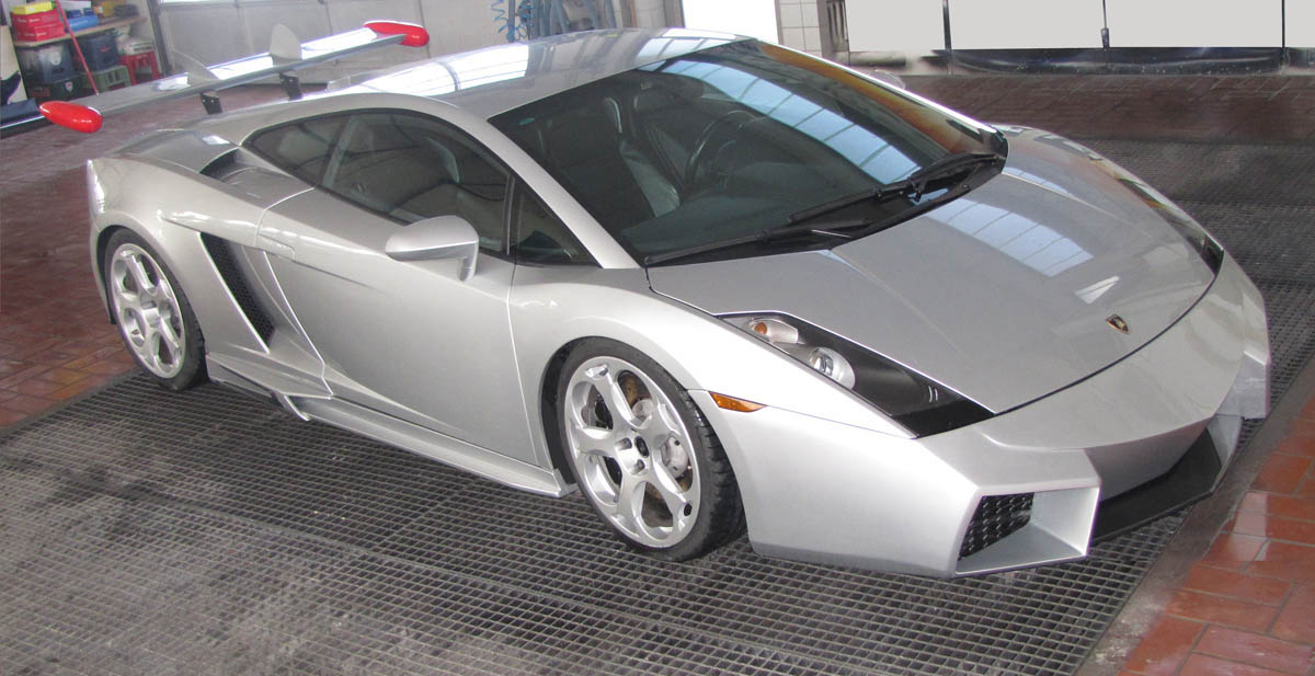 Lamborghini Gallardo Reventon Kit By Cdc Cartype