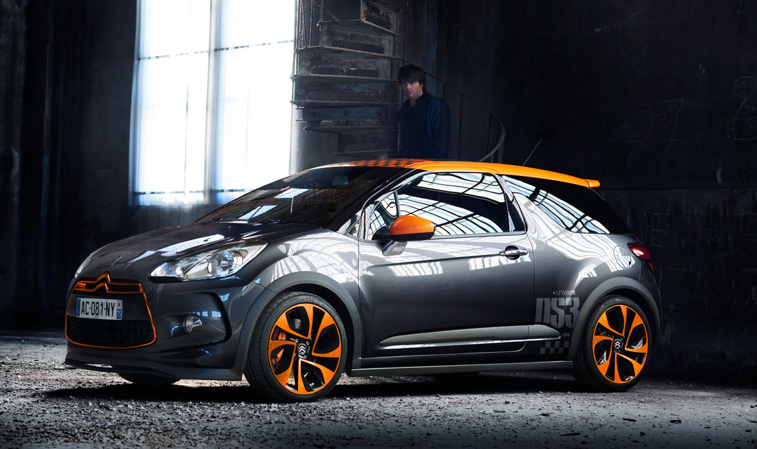 2010 Citroen DS3 Racing.
