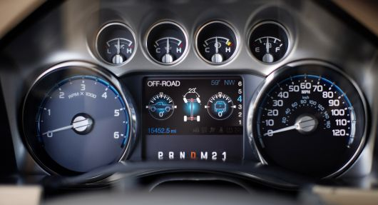 ford f series super duty gauge cluster 11