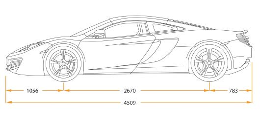 Mclaren Mp4 12c 11 Draw Side