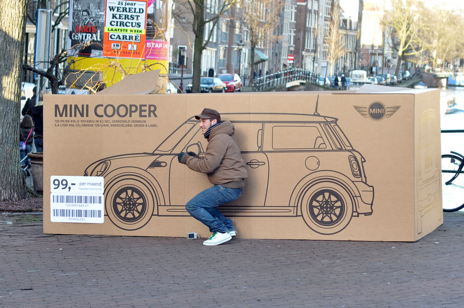 Mini In De Box.Mini Box Campaign Cartype