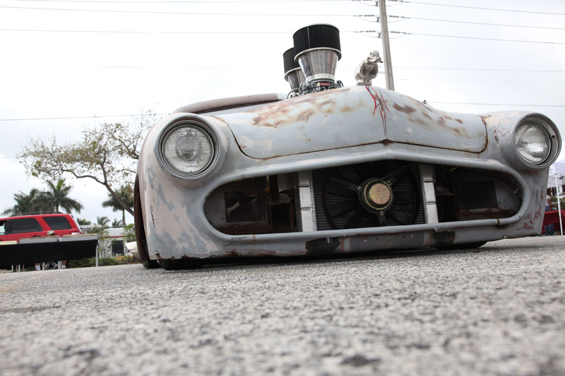 Low Rider Rat Rod.