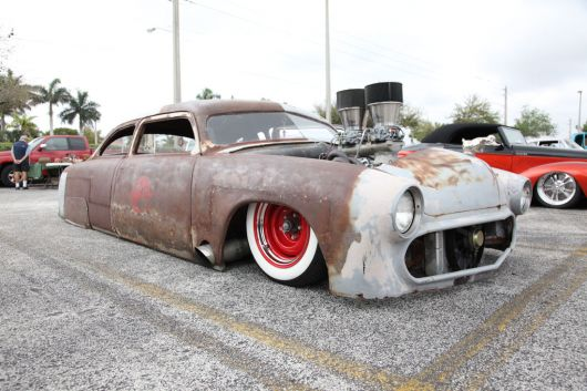 low rider rat rod 26