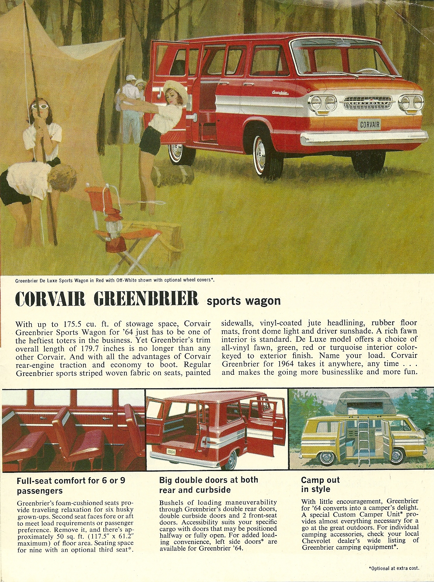 Chevrolet Corvair Greenbrier 1964 Cartype