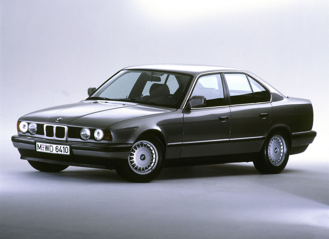 BMW 520i Saloon, (3rd generation).