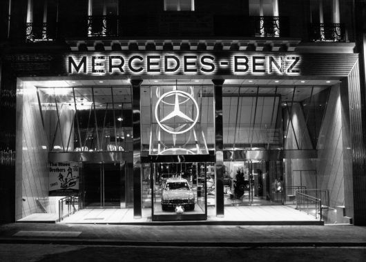 mercedes benz paris 80