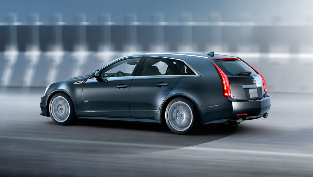 Cadillac CTS-V Wagon price announced   Cartype
