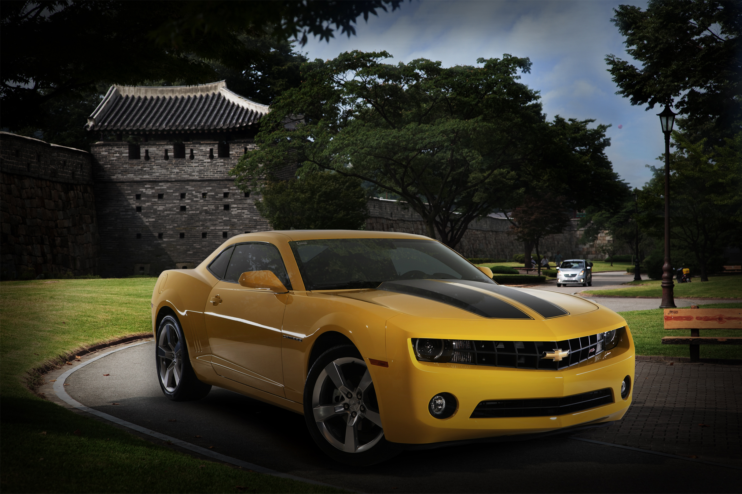 Chevrolet Camaro in Korea.