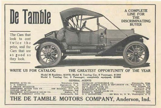 detamble roadster ad 12