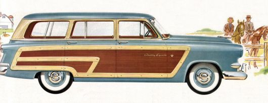 ford crestline country squire wagon 53