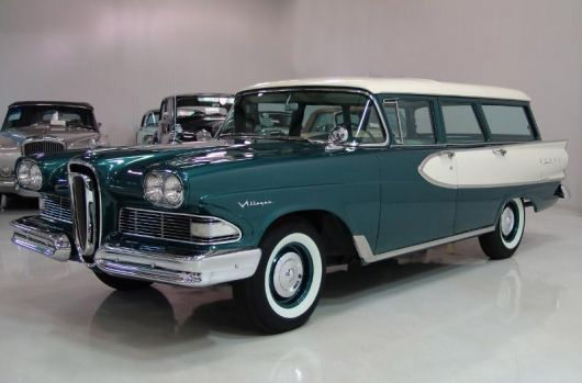 ford edsel villager wagon 58