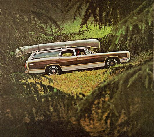 ford ltd country squire station wagon 69