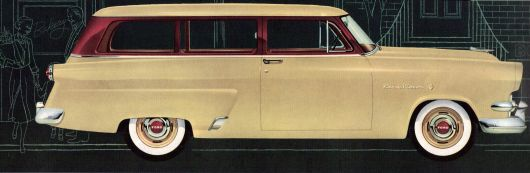 ford mainline ranch wagon 54