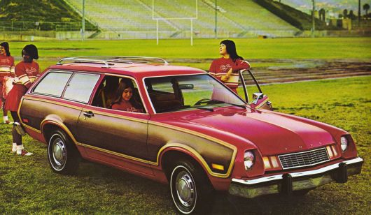 ford pinto squire wagon 78