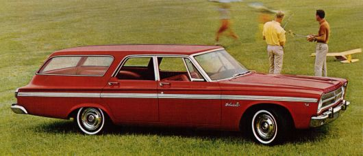 plymouth belvedere wagon 65