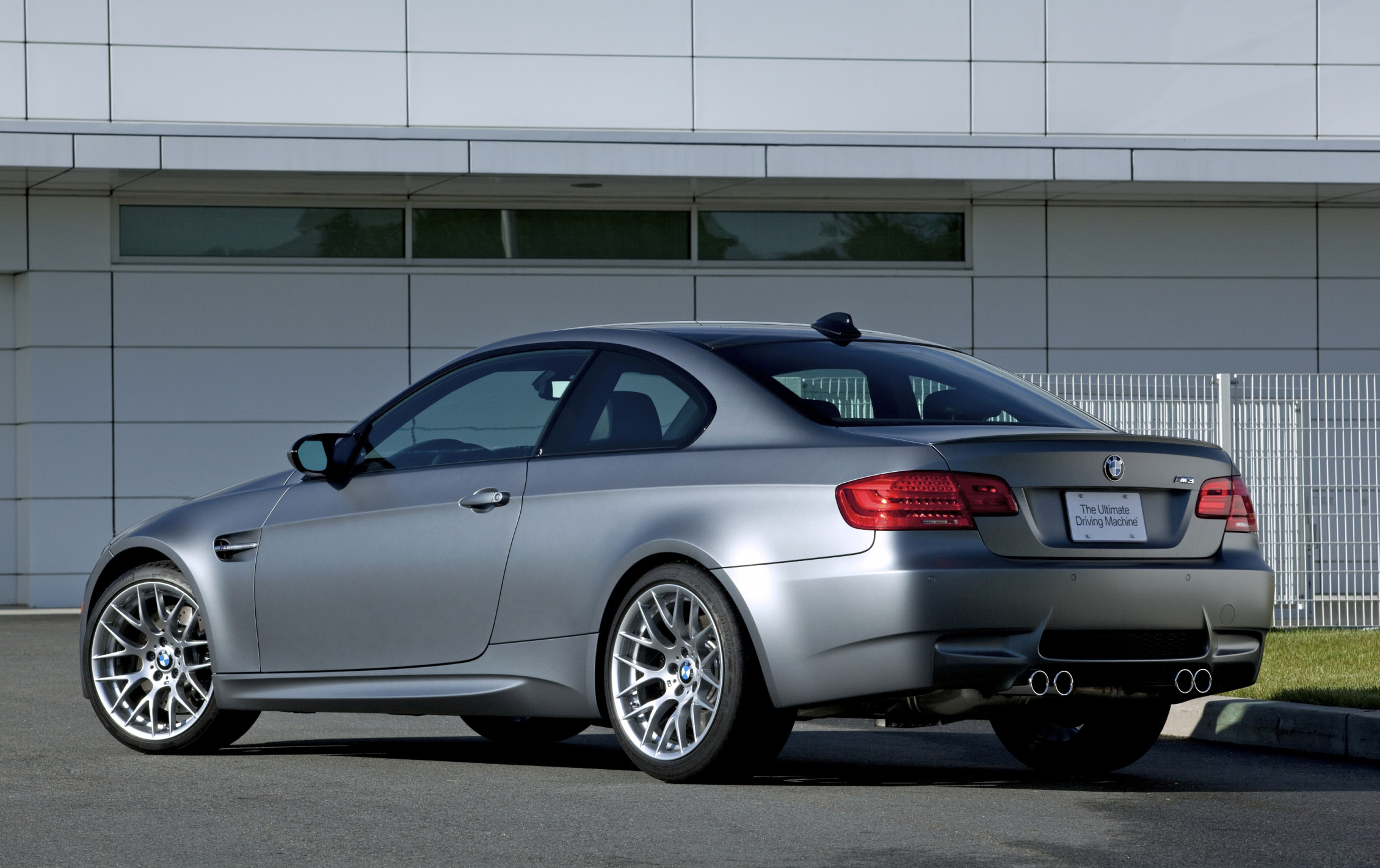 Bmw Frozen Gray M3 Coupe 2011 Cartype