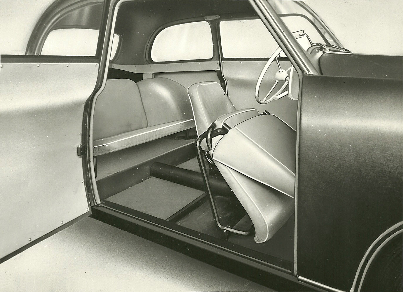 1953 Lloyd interior.