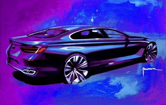 bmw grand coupe sketch 01