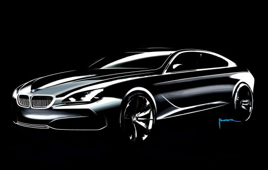 bmw grand coupe sketch 03