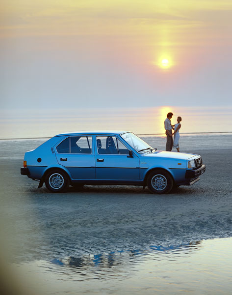 1979 Volvo 345 5-door hatchback.