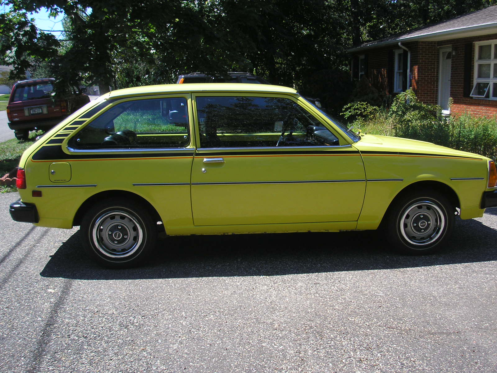 1978 Mazda GLC Hatchback.