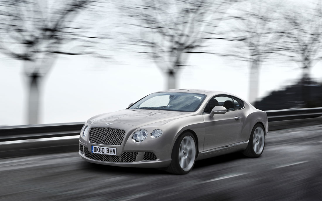 Bentley Gt Coupe 2011. 2011 Bentley Continental GT.