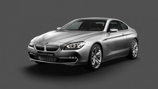 bmw concept 6 series coupe 10 07