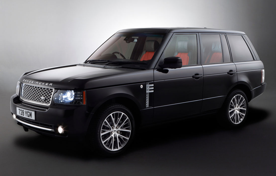 Land Rover Range Rover Autobiography Black : 2011 | Cartype