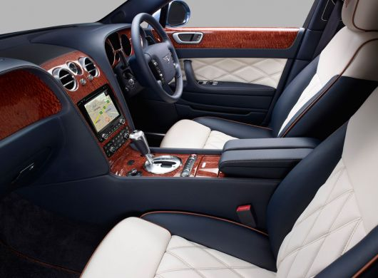 bentley continental flying spur series 51 sapelli pomelle in1 12