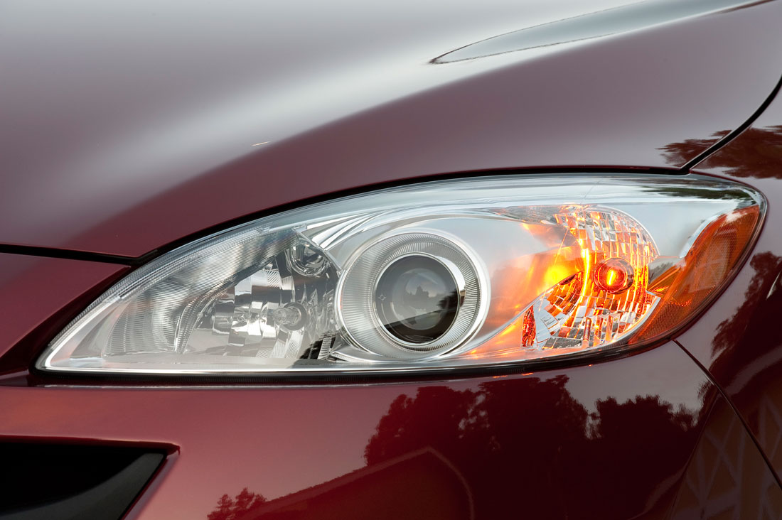 2012 Mazda 5 headlight.