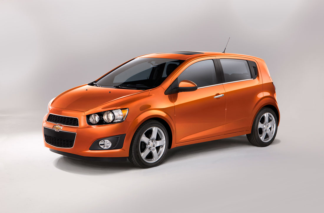 2012 Chevrolet Sonic Hatchback.